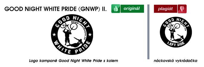 Good Night White Pride - bike